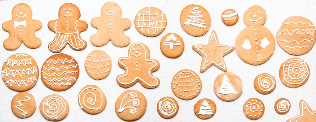 Gingerbread cokies.