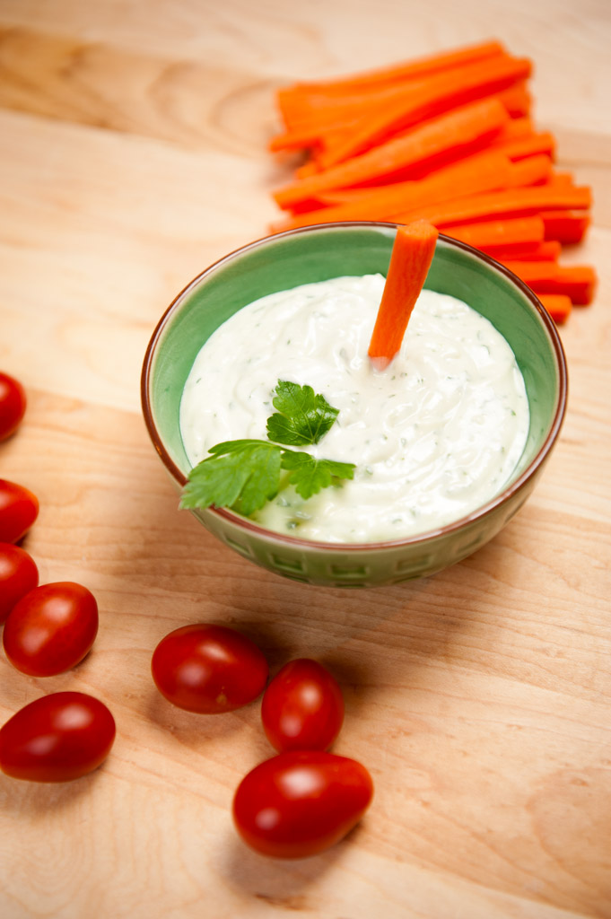 Creamy Blue Cheese Dip - What's on the Plate