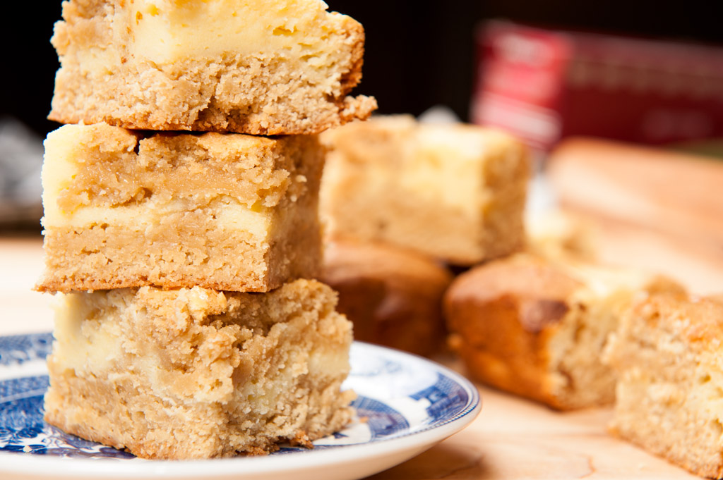 Cream Cheese Blondies