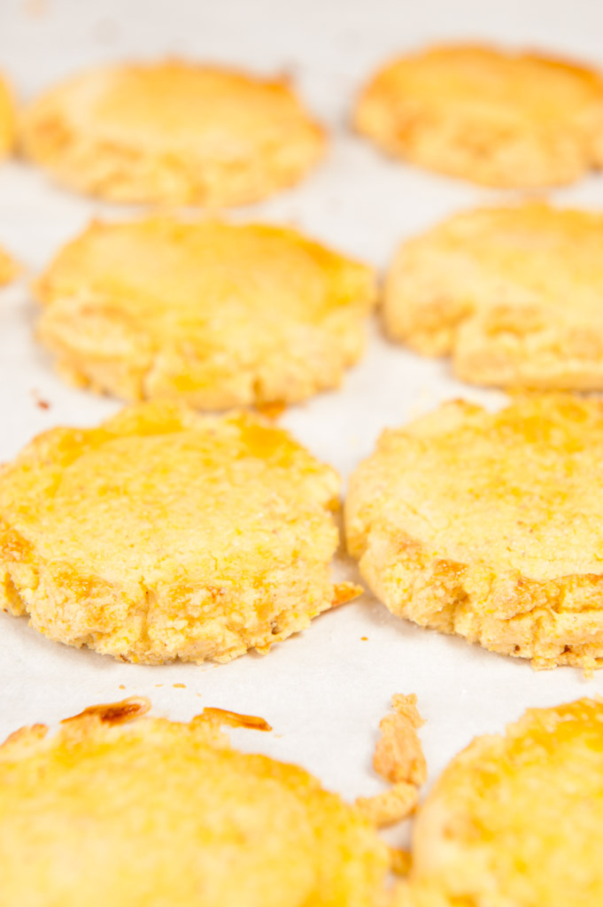 Cornmeal cookies - What's on the Plate