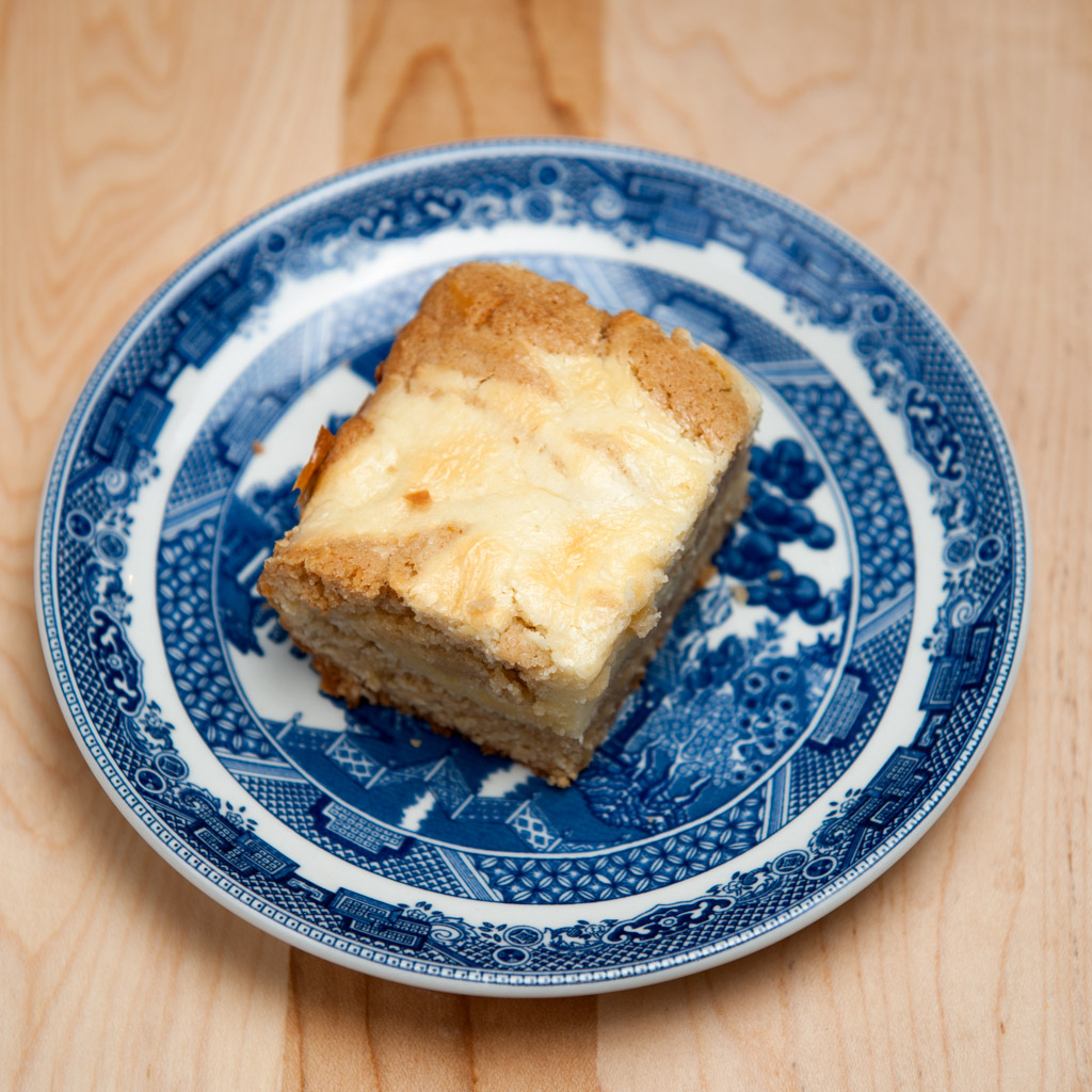 Cream Cheese Blondie