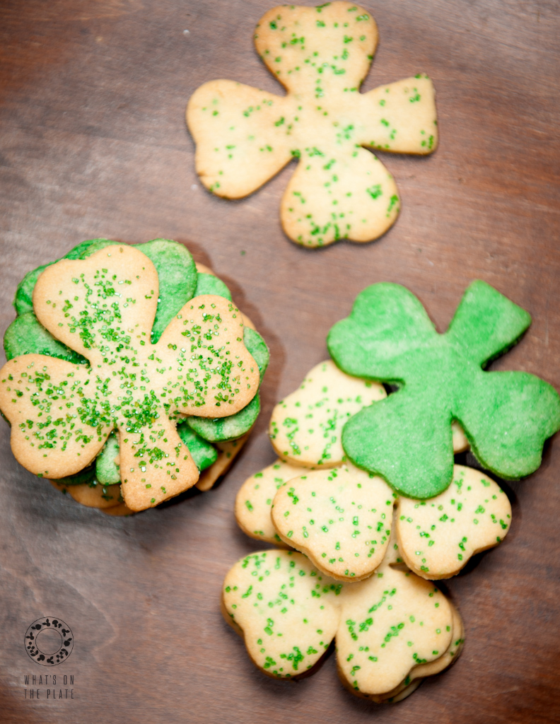 clover cookies top