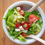 Easy Peasy Romaine Lettuce Salad