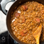 <a href=&quot;http://www.whatsontheplate.com/lentil-stew/&quot;>Lentil stew</a>
